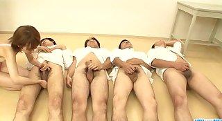 Yui Misaki provides amazing blowjob on cam