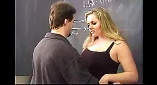 Chubby student wants an Adult class in her maths class