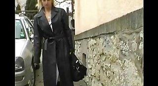 Blonde MILF In Lingerie Fucked