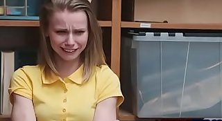 Scared Teen Cries While Fucked!